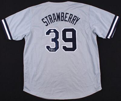 new style 25cd9 f8149 Darryl Strawberry Signed New York Yankees Jersey (JSA) 3xWorld Series  Champion | eBay