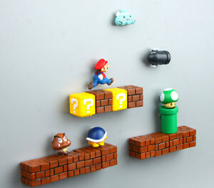 Super Mario Bros Mushroom Brick Pipe Tortoise Monster