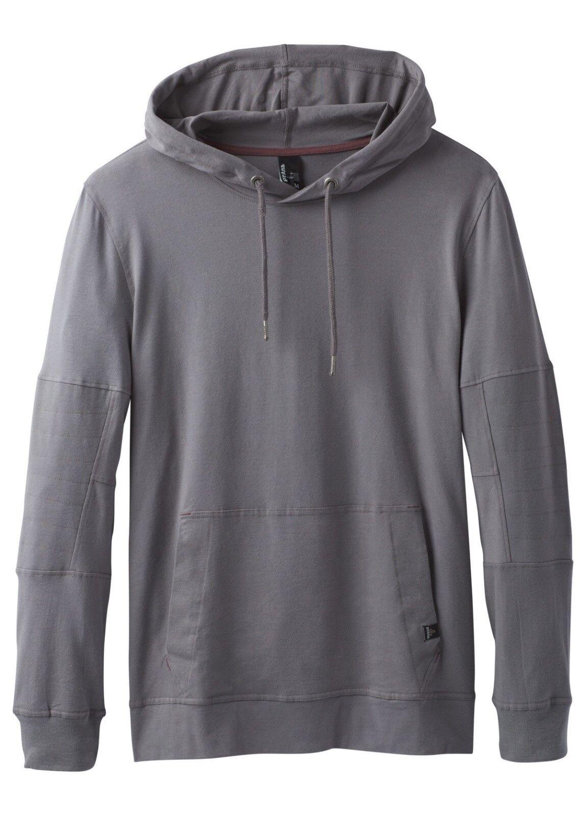 Prana Sector Hoodie, Hoody Sweater for Men, Gravel