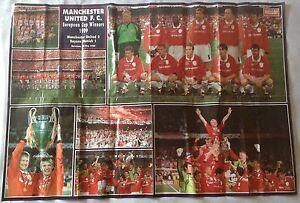 Man-Utd-1999-Champions-League-Final-Poster-Manchester-United-Treble-Season