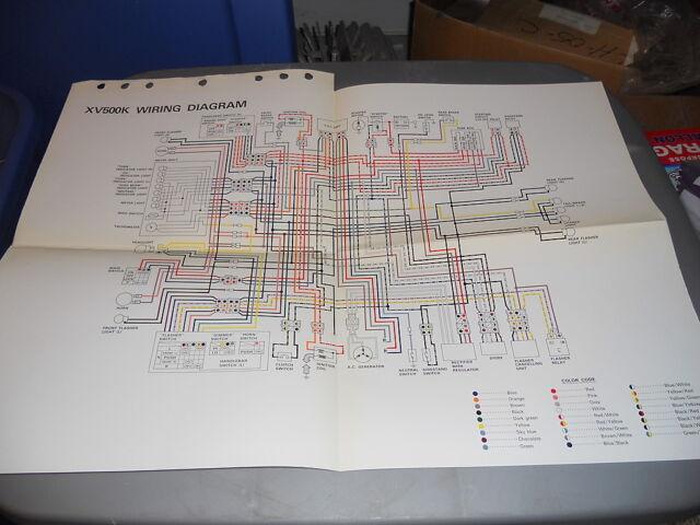 Yamaha Wiring Diagram Xv500k