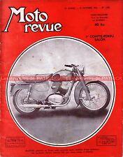 MOTO REVUE 1208 VESPA STARLETT TERROT Tour France Grand Prix MONZA SALON 1954