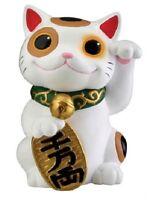 Maneki Neko Beckoning Cat Lucky Money Japanese Figurine