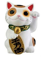 Maneki Neko Beckoning Cat Lucky Money Japanese Figurine