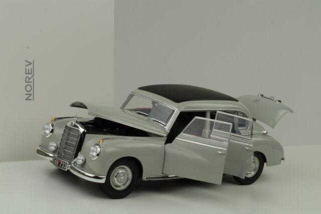1955 Mercedes-Benz W186 Typ 300 hellgrau 1:18 Norev 183578