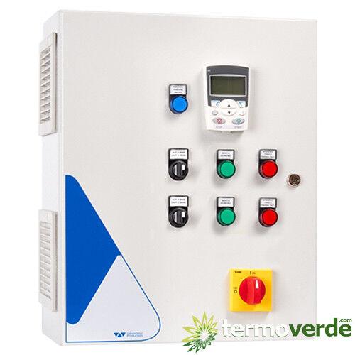 Quadro elettrico 2 pompe Elentek Vartek 2 1.1