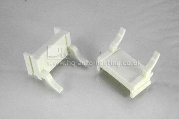2x H7  BULB HOLDER BRACKET CLIP ADAPTOR  for HID Xenon KIT fit Ford Focus MK II
