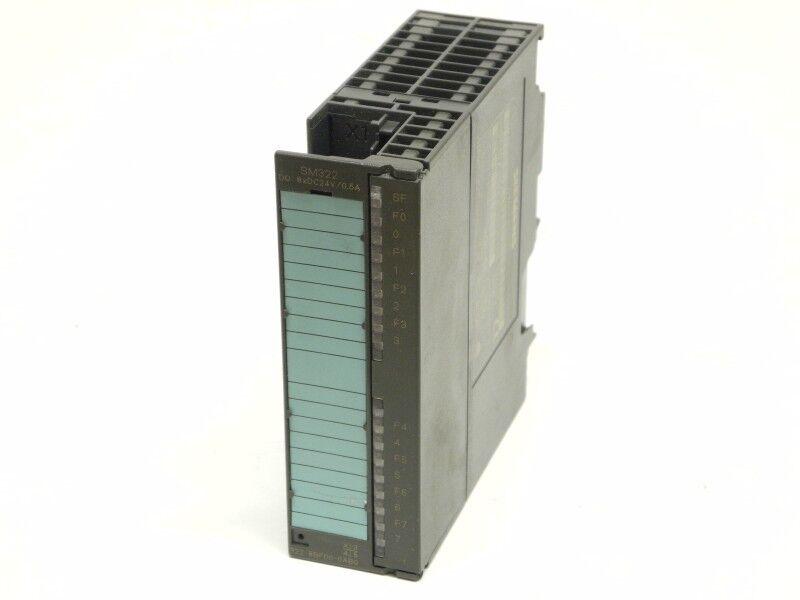 Siemens S7 6ES7 322-8BF00-0AB0 SM322 6ES7322-8BF00-0AB0 E.Stand 02