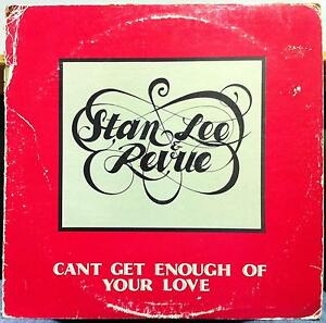 Stan-Lee-amp-Revue-Can-039-t-Get-Enough-Of-Your-Love-LP-VG-GOS-108-Soul-Boogie