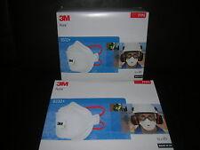 n.10 MASCHERINE antipolvere  Respiratori 3M 9332+ FFP3 Aura Sconto 65% amianto