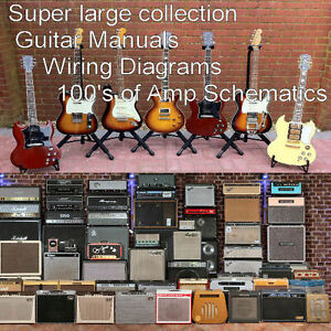 Guitar Collections of Guitar Manuals And Amplifier Manuals Custom