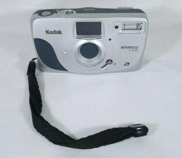 2019 Nouveau Style Kodak Advantix F320 Compact Aps Film Camera