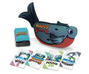 Blue-Happy-Salmon-High-Fivin-039-Fin-Flappin-039-Card-Game-North-Star-Games-NSG-601