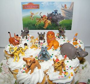 Disney The Lion Guard Cake Toppers Set Of 13 Fun Figures