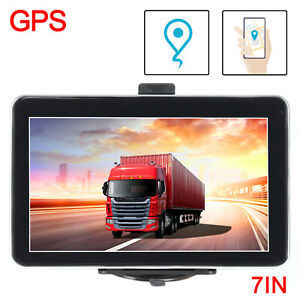 7 zoll navigationsger t f r lkw pkw bus navi navigation gps poi blitzer mp3 ebay. Black Bedroom Furniture Sets. Home Design Ideas