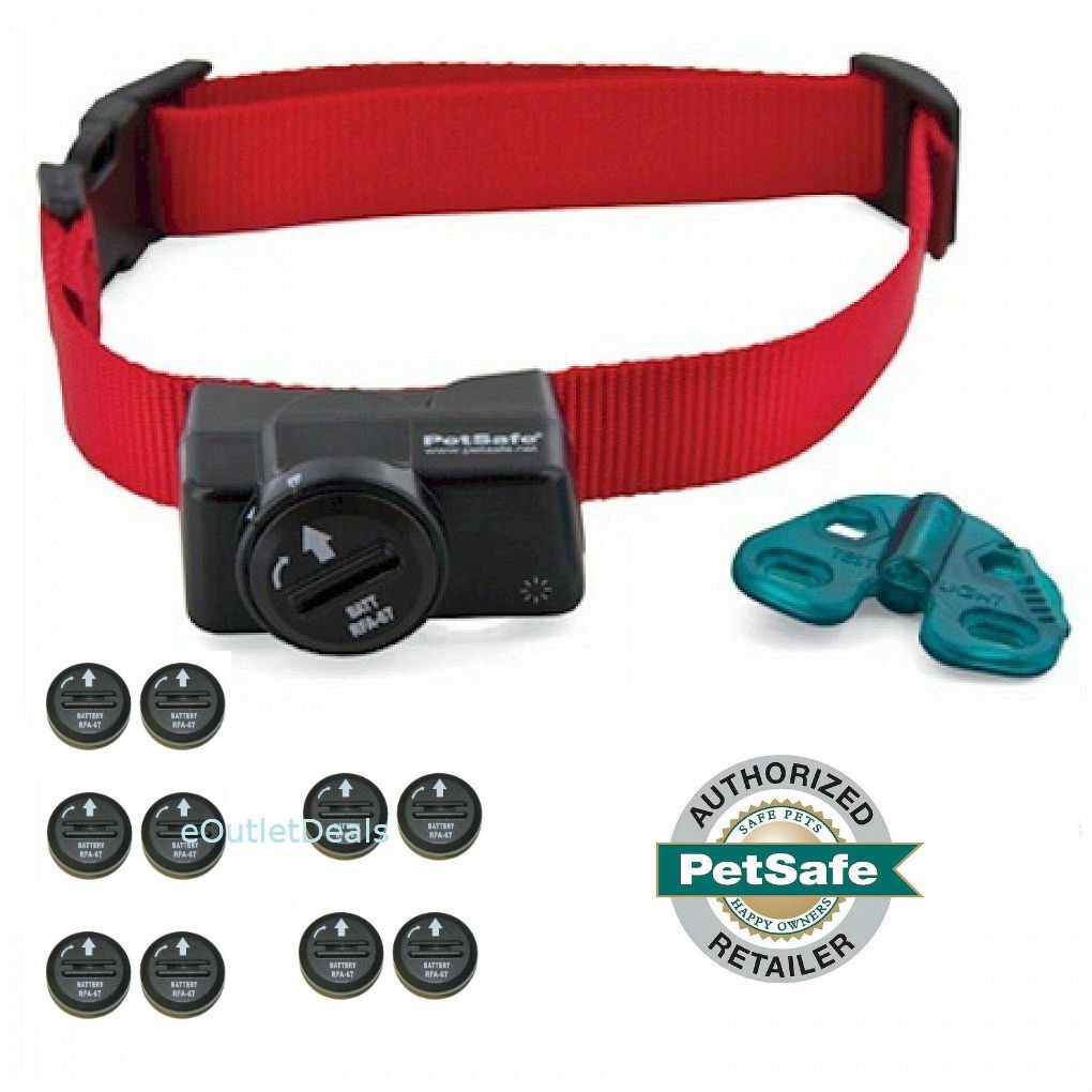 PetSafe PIF-275-19  Wireless Dog Fence Receiver Collar For PIF-300 + Batteries