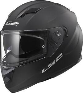 LS2-FF320-STREAM-EVO-MATT-BLACK-DUAL-VISOR-PINLOCK-FULL-FACE-MOTORCYCLE-HELMET
