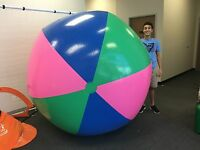 80 Or (6 1/2 Ft.) Tall Inflatable Super Large Monster Giant Stadium Beach Ball