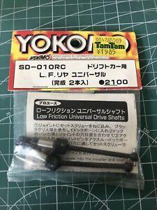 "Yokomo SD-010RC Universal Shafts (rear) ""for Drift Cars"" NEW"