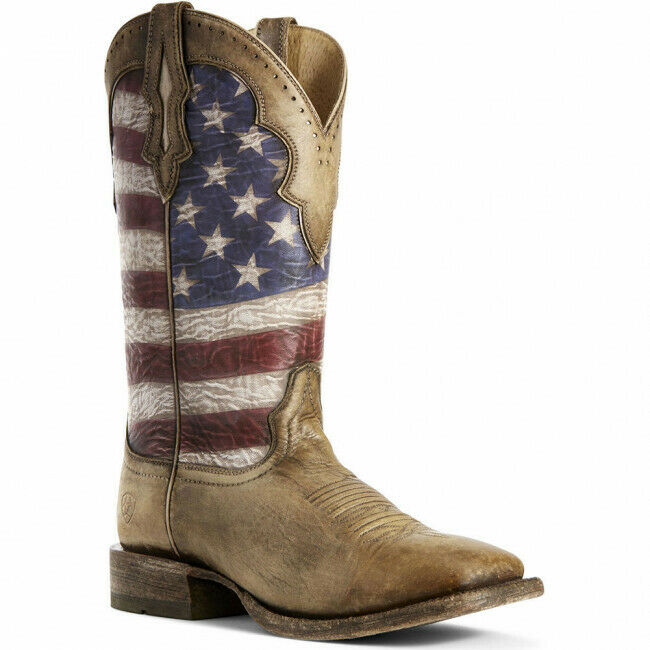 Ariat® Men's Ranchero Stars & Stripes Boots 10027183