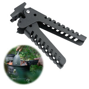 Portable Outdoor Camping Pot Pan Bowl Gripper For Cookware Picnic Handle Clip