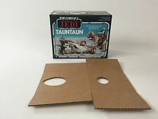 brand new star wars rotj open belly tauntaun box + inserts