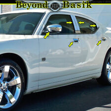 AAL CHROME COVER FOR 2005-2010 DODGE CHARGER 4 DOOR HANDLES