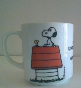 Vintage Peanuts Snoopy Quot My Generation Quot Ceramic Coffee Mug