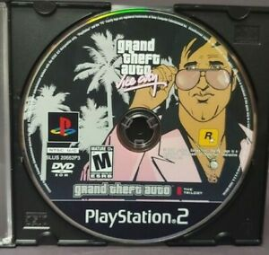 Grand-Theft-Auto-Vice-City-Sony-Playstation-2-PS2-Game-Lot-Tested-Working