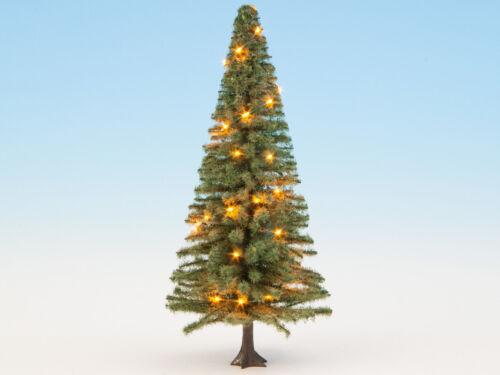 Noch 22131 Spur 0,H0,TT Beleuchteter Weihnachtsbaum grün mit 30 LED´s