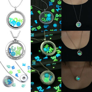 Image Is Loading Glow In The Dark 50pcs Floating Charm Locket