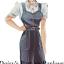 miniatura 2 - VINTAGE 1940 Sewing Pattern Salopette Lavoro Daisys LAND Esercito il sistema di HASLAM