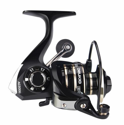 Saltwater Spinning Reels Lure Fishing Reel 5-8KG Drag Handle Line Fishing Spool