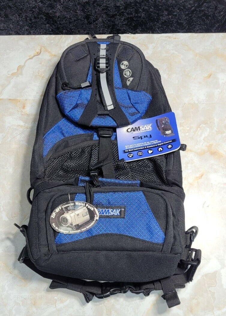 Camsak by Soundkase Spy Photographers Backpack 12.4L 750 Cu In 17