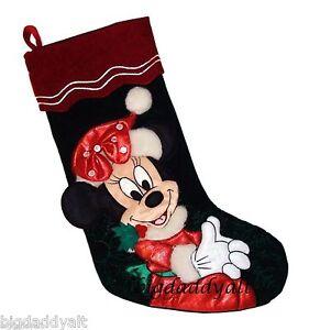 Christmas Minnie Mouse Plush.New Disney World Parks Santa Minnie Mouse Plush Christmas