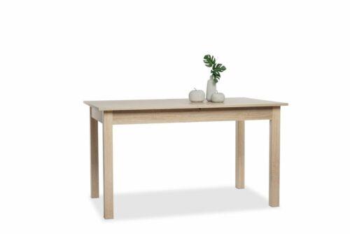Esstisch Esszimmertisch Tisch in 140-180 x 77 x 80 cm Sonoma Eiche ausziehbar