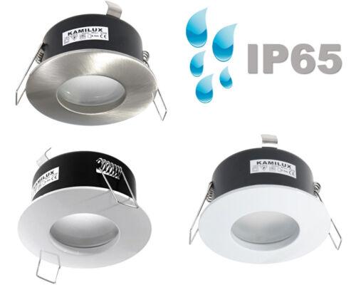 gu10 /& gu5.3 Bath /& Shower Wet Room Ceiling Spot Aqua ip65 without bulbs