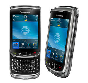 AT&T BlackBerry Torch 9800 Qwerty Keyboard Slide Phone Touch