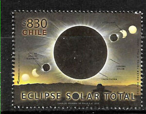 CHILE-2019-SPACE-ASTRONOMY-SUN-ECLIPSE-CHILE-ARGENTINA-MNH