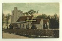 cu0615 - Little Missenden Church , Buckinghamshire - postcard