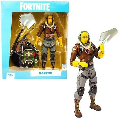 RAPTOR 7 inch Brand New McFarlane Toys Action Figure Fortnite S1