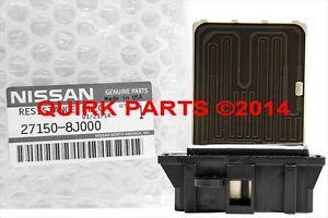 2002 2003 2004 05 2006 Nissan Altima Blower Motor Resistor