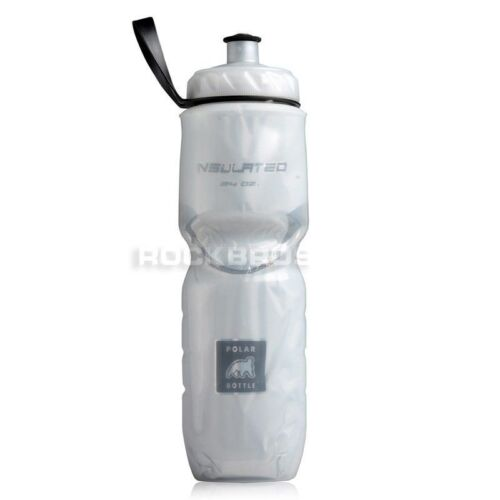 24oz Polar Bottle Bicycle Bike Cycling Insulated Water Bottle New