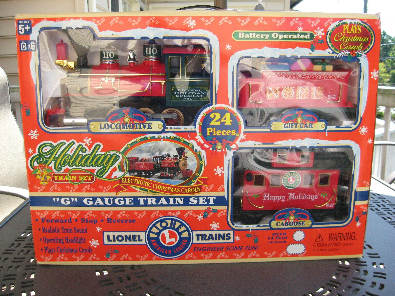 Tren Lionel G calibre Vacaciones Juego Completo 62134