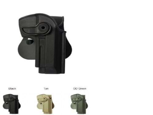 IMI Black Polymer Retention Holster for Beretta 92//96 Llama 82 /& Cheetah FS 85