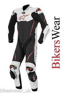 Alpinestars-Atem-White-Black-RED-1-One-Piece-Leather-Motorcycle-Suit-was-1100