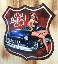 ADESIVI Rockabilly Oldschool Pin Up Old School Hotrod Sticker CUSTOM Mercury