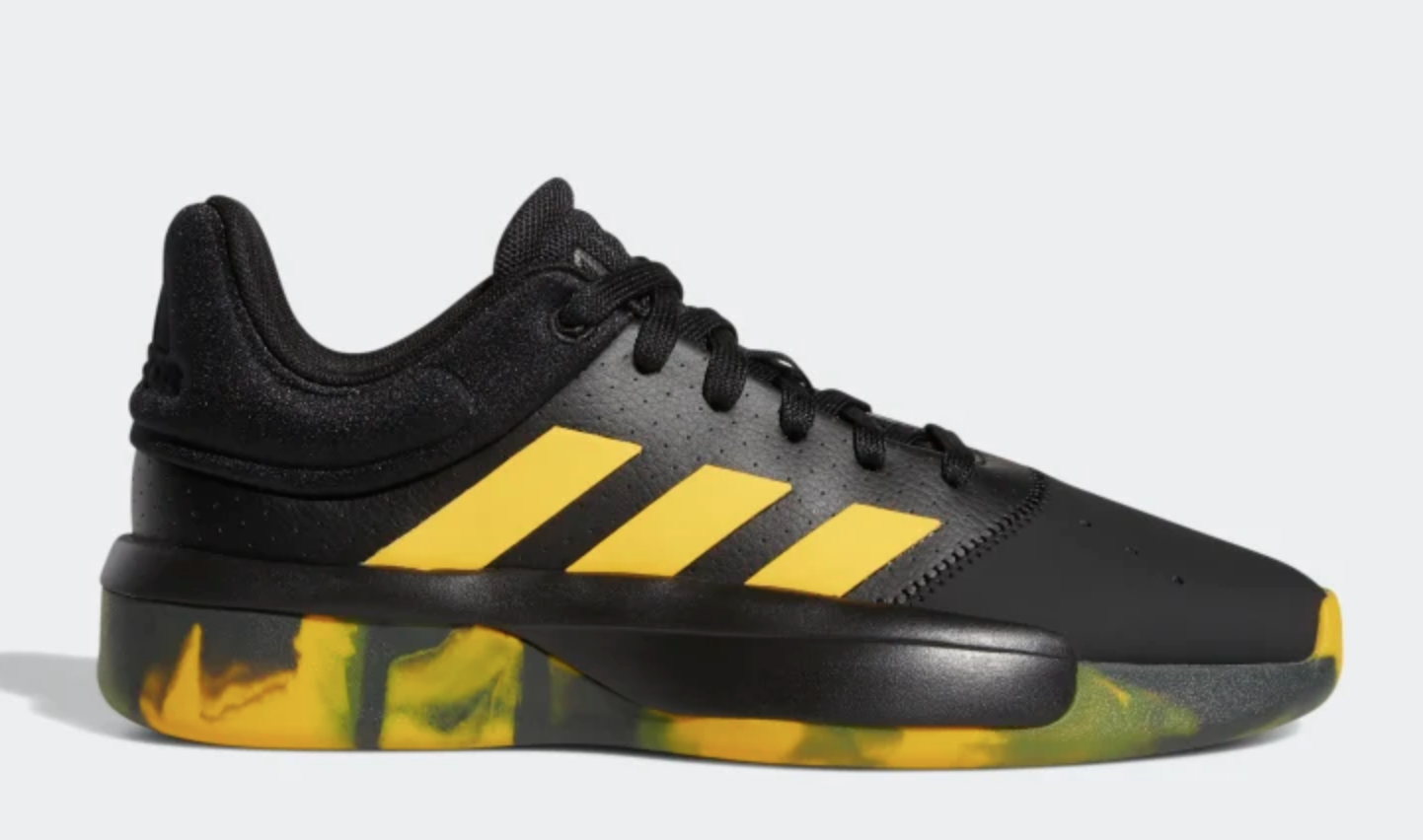 Adidas PRO ADVERSARY Low 2019 EF0488 noir Active or légende Earth chaussures a1