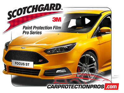 2018 Ford Focus 3M Scotchgard PRO Paint Protection Film Clear Bra Standrd Kit