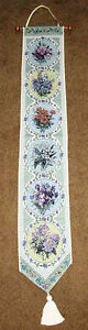 Spring-Butterfly-Floral-Tapestry-Wall-Hanging-Bellpull-Artist-Lena-Liu